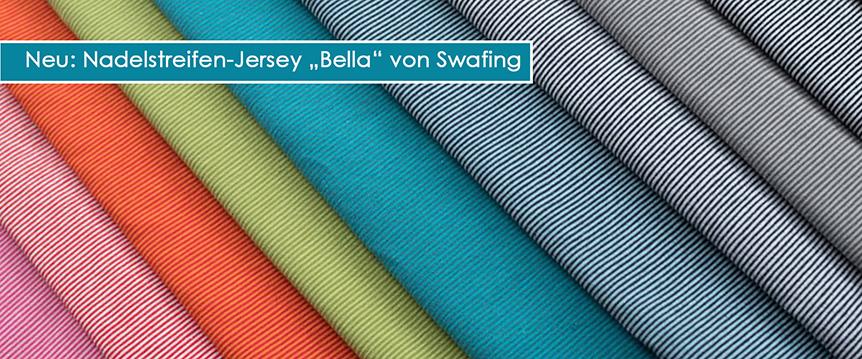 Nadelstreifen-Jersey Bella Swafing