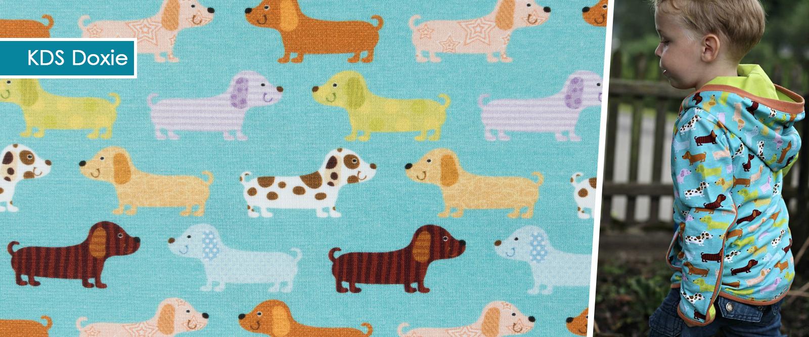 KDS Doxie - Jersey Eigenproduktion mit Hunden