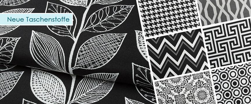 Neue Stoffe in der Themenkategorie Taschen! Gobelin, Canvas, uvm.