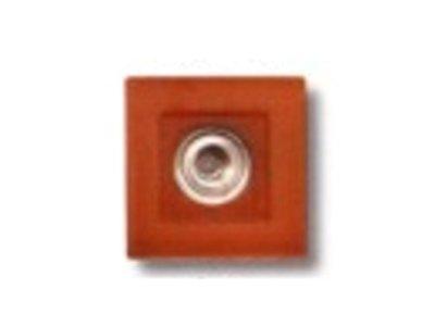 Druckknopf Gum Tec 28mm rost