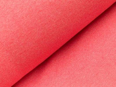 Glattes Bündchen im Schlauch Viola Swafing 100cm breit - meliert helles rot