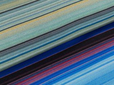 Jersey - Streifenmix - lila