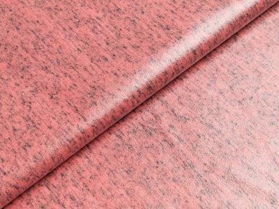 Beschichteter Jersey Doris Swafing - meliert rosa