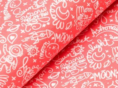 Sweat Swafing Mauna Kea by Lila-Lotta - Schriftzüge und verschiedene Motive - orange