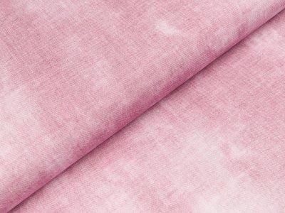 Viskose Jersey Swafing Phinchen - Batik auf Jeansoptik - rosa