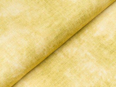 Viskose Jersey Swafing Phinchen - Batik auf Jeansoptik - gelb