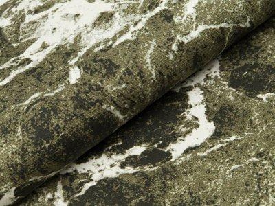 Sommer Sweat Swafing Jette - Marmorstein - olivgrün