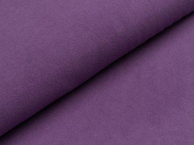 Jacquard Strickstoff Softtouch Max - uni lila