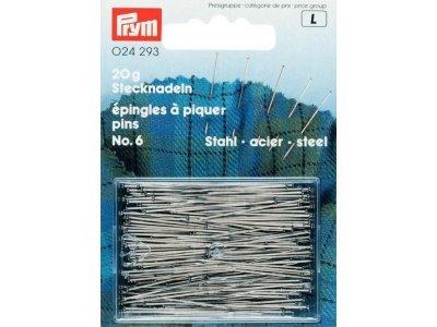 Prym Stecknadeln ST 0,60 x 30 mm - silberfarben