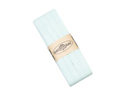 Jersey Schrägband Oaki doki gefalzt 20 mm x 3 m - mint