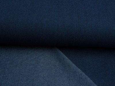 Jeansstoff blue dark stone wash