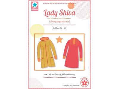 Schnittmuster Lady Shiva Übergangsmantel - Damen