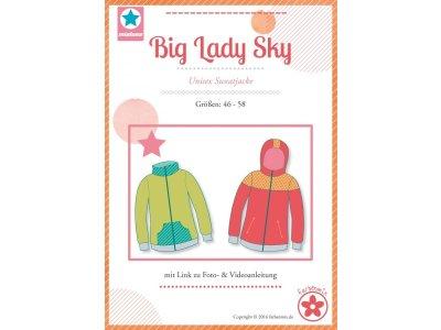 Schnittmuster Big Lady Sky Unisex Sweatjacke