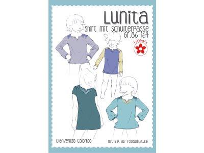Schnittmuster Lunita - Passenshirt für Mädchen