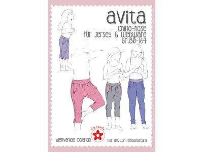 Schnittmuster Avita - Chino-Hose für Mädchen