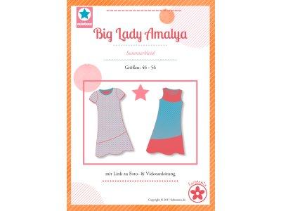 Schnittmuster Big Lady Amalya - Sommerkleid für Damen