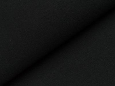 Jersey uni - schwarz