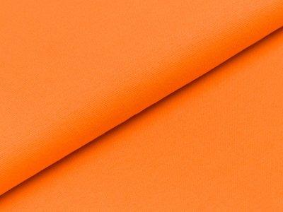 Glattes Bündchen im Schlauch Heike Swafing 100 breit orange