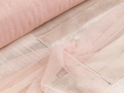 Sparkling Glitzer Tüll - helles rosa