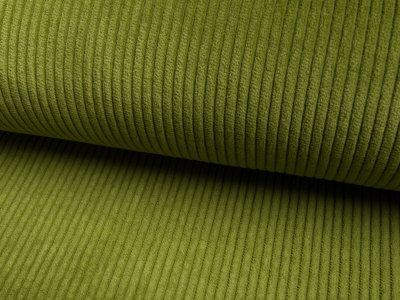 Breitcord washed - helles olivegrün
