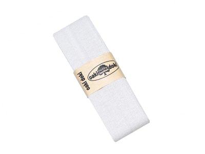 Jersey Schrägband Oaki doki gefalzt 20 mm x 3 m - stein