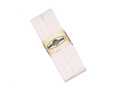 Jersey Schrägband Oaki doki gefalzt 20 mm x 3 m - beige
