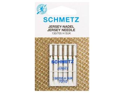 Schmetz 5 Jersey-Nähmaschinennadeln 130/705 H-SUK 70/10 Kugel