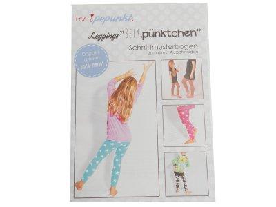 """Papier-Schnittmuster Lenipepunkt - Leggins """"Beinpünktchen"""" - Kids"""
