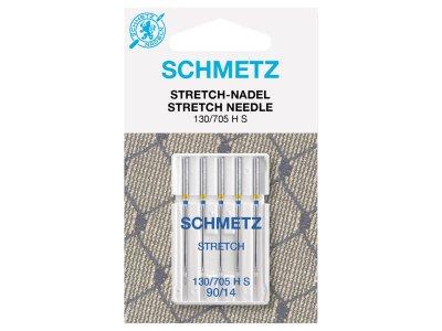 Schmetz 5 Nähmaschinennadeln 130/705 H-S Stretch 90