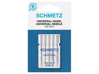 Schmetz 5 Universal-Nähmaschinennadeln 130/705 H Standard 100