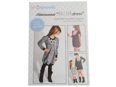 """Papier-Schnittmuster Lenipepunkt - Kleid """"Balloondress"""" - Mädchen"""
