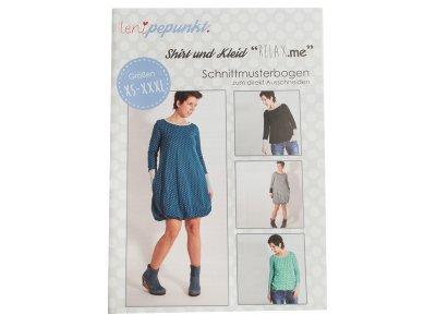 """Papier-Schnittmuster Lenipepunkt - Kleid/Shirt """"Relax.me"""" - Damen"""