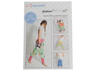 Papier-Schnittmuster Lenipepunkt - Spielhose Lässig 2.0 - Kids