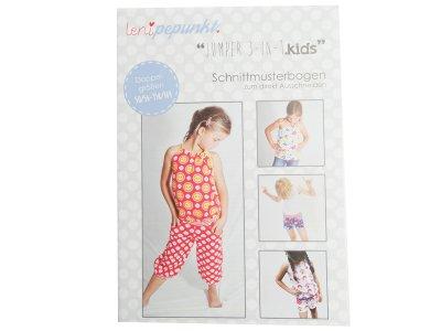 "Papier-Schnittmuster Lenipepunkt - Jumper ""3-in1"" - Kids"