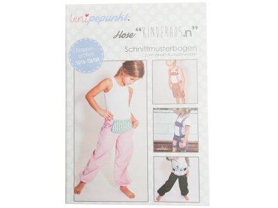 "Papier-Schnittmuster Lenipepunkt - Hose ""Kinderhos.n"" - Kids"