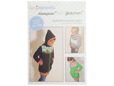 "Papier-Schnittmuster Lenipepunkt - Kinderjacke ""Sweatjäckchen"" - Kids"