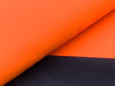 Jackenstoff Softshell - neonorange