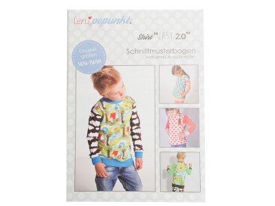 "Papier-Schnittmuster Lenipepunkt - Shirt ""Easy 2.0"" - Kids"