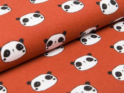 Webware Flanell - Pandas - rost