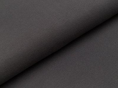 Glattes Bündchen im Schlauch Heike Swafing 100cm breit anthrazit