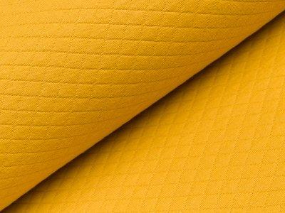 Jersey Rautenstepper - uni gelb