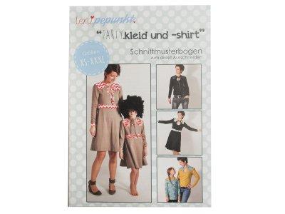 """Papier-Schnittmuster Lenipepunkt - Kleid/Shirt """"Partykleid"""" - Damen"""