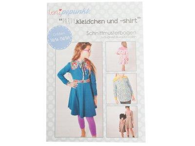 """Papier-Schnittmuster Lenipepunkt - Kleid/Shirt """"Partykleidchen"""" - Mädchen"""