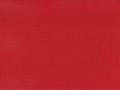 Glattes Bündchen im Schlauch rot