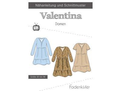 Papier-Schnittmuster Fadenkäfer - Kleid VALENTINA - Damen