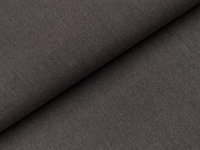 Bi-elastische Viskose Webware - uni dunkles grau