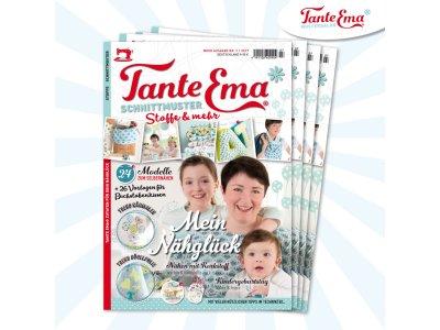 Papierschnittmuster Zeitschrift Tante Ema MOOK Nr. 7/2017