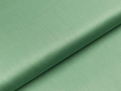 Merzirisierte Baumwolle Romantico - uni grün