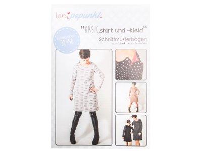"""Papier-Schnittmuster Lenipepunkt - Shirt/Kleid """"Basic"""" - Damen"""