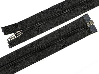 Reißverschluss  YKK teilbar 63 cm - schwarz